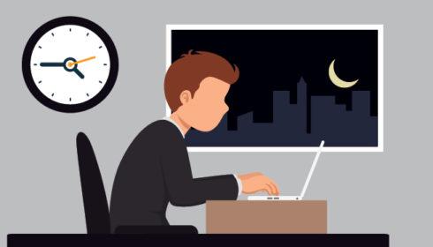 Fazer hora extra não é sinônimo de eficiência